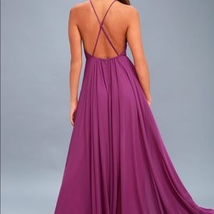 Lulu Maxi Dress Mythical Kind of Love Purple